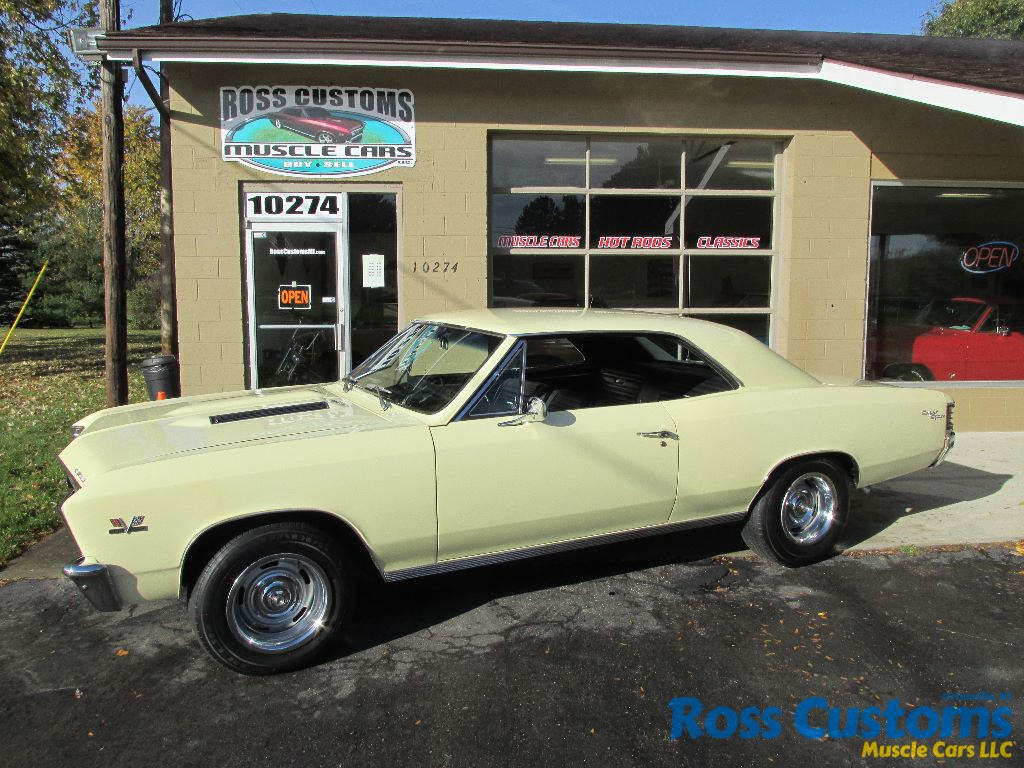 SOLD SOLD – 1967 Chevrolet Chevelle SS 396 -138 VIN – Factory AC ...