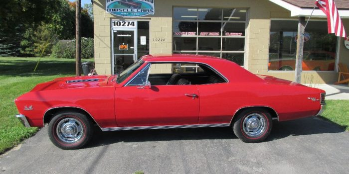 SOLD SOLD - 1967 Chevrolet Chevelle SS 396 4 speed