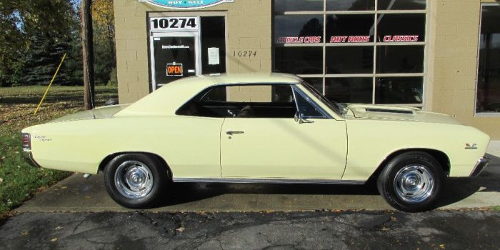 SOLD SOLD - 1967 Chevrolet Chevelle SS 396 -138 VIN - Factory AC