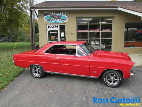 SOLD SOLD – 1967 Chevy II Nova SS « Ross Customs