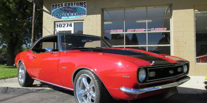 SOLD SOLD - 1968 Chevrolet Camaro SS 396 Pro-Touring