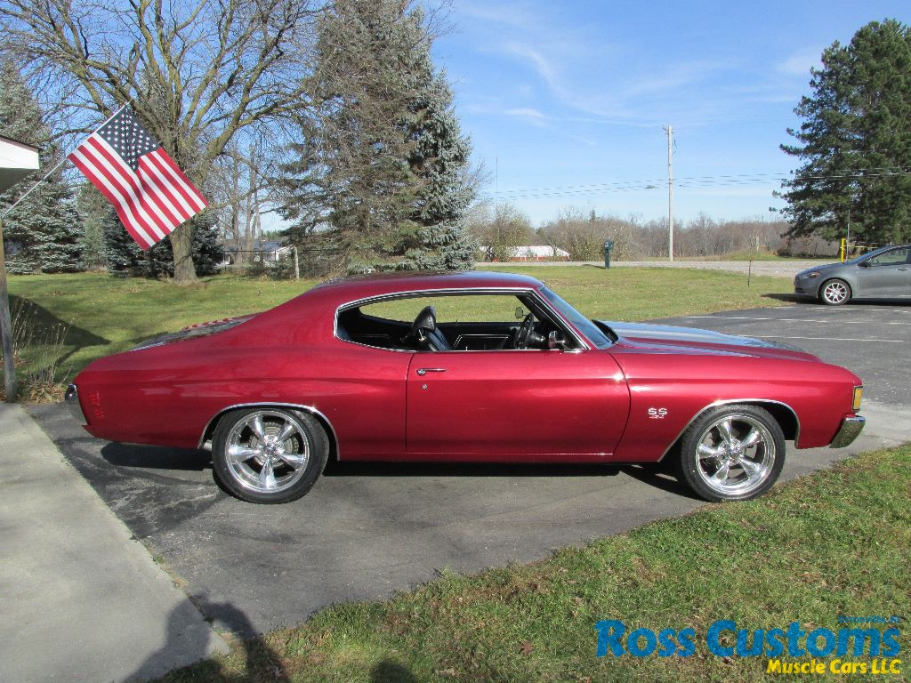 Sold Sold 1972 Chevrolet Chevelle Ss 454 Ross Customs
