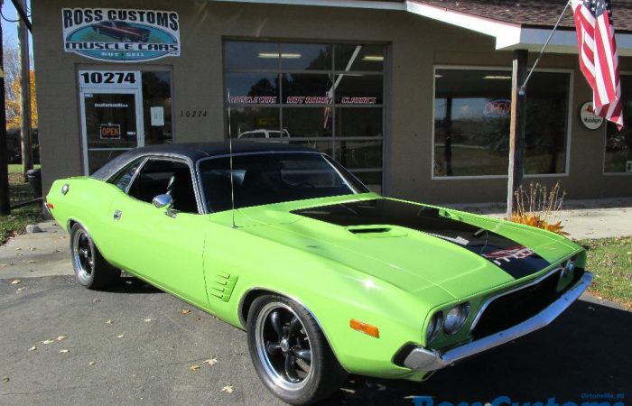 SOLD SOLD - 1974 Dodge Challenger Rallye - Fuel Injected 440