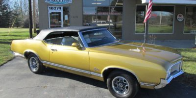 FOR SALE - 1970 Oldsmobile Cutlass Convertible - $28,900