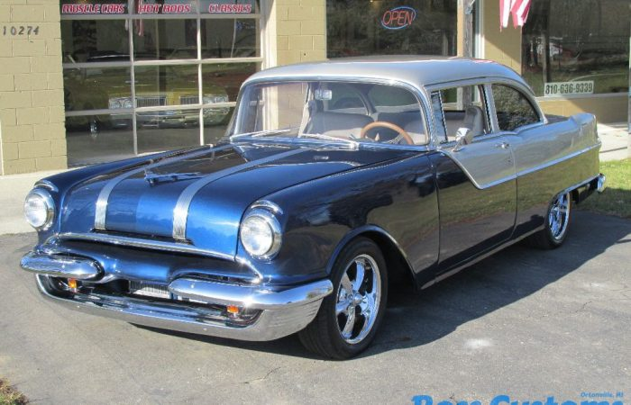SOLD SOLD - 1955 Pontiac Chieftain Resto-mod