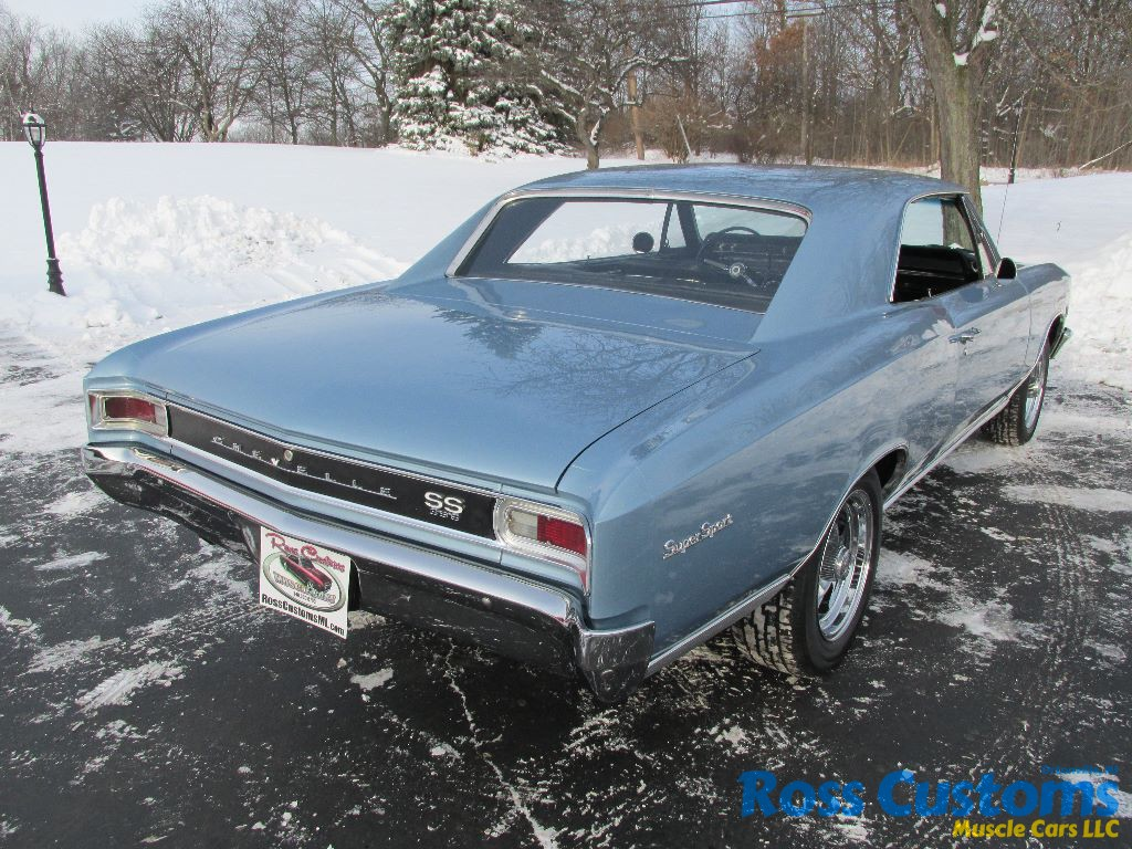 SOLD SOLD – 1966 Chevrolet Chevelle SS 396 – 4 speed – 138 VIN ...