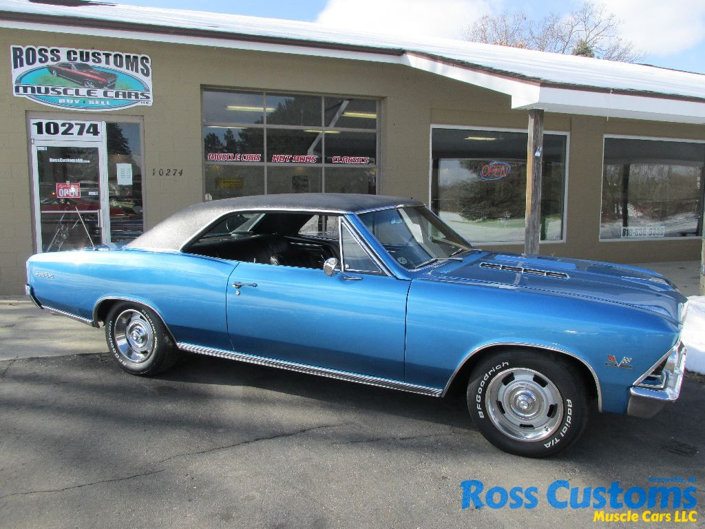 Sold 1966 Chevrolet Chevelle Ss 396 Ross Customs Chevy We