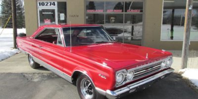 FOR SALE - 1967 Plymouth Satellite 383 4 barrel - $25,900