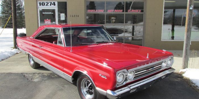 SOLD SOLD - 1967 Plymouth Satellite 383 4 barrel