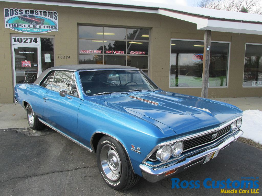 Sold Sold 1966 Chevrolet Chevelle Ss 396 171 Ross Customs