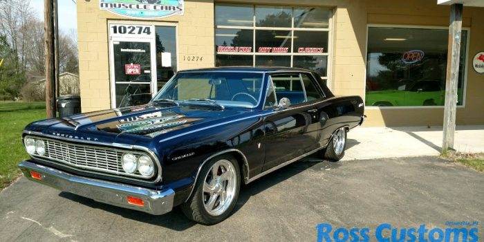 SOLD SOLD  - 1964 Chevrolet Chevelle Malibu SS - Resto-mod - LT1 fuel injected