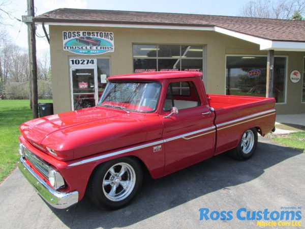 Sold Sold 1966 Chevy C10 Short Box Pickup 171 Ross Customs