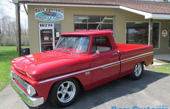 SOLD SOLD  - 1966 Chevy C10 Short box Pickup