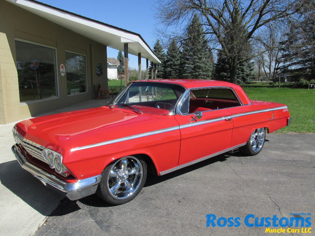 All Types 2004 impala ss indy edition : SOLD SOLD – 1962 Chevrolet Impala SS – Resto-mod Â« Ross Customs