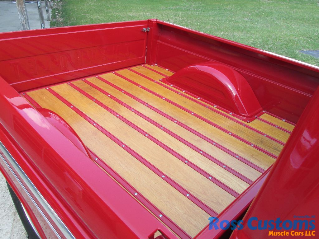 Sold 1966 Chevy C10 Short Box Pickup Ross Customs Bed