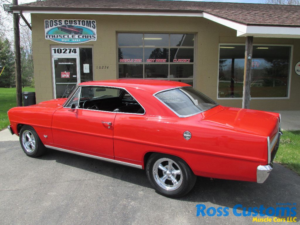 All Chevy 1964 chevy ii : SOLD SOLD – 1966 Chevrolet Chevy II Nova Â« Ross Customs