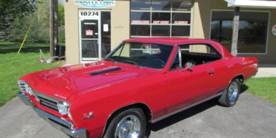FOR SALE - 1967 Chevrolet Chevelle 138 VIN - #'s matching SS 396 - 4 speed - $48,900