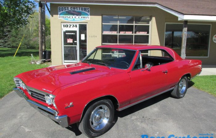 SOLD SOLD - 1967 Chevrolet Chevelle 138 VIN - #'s matching SS 396 - 4 speed