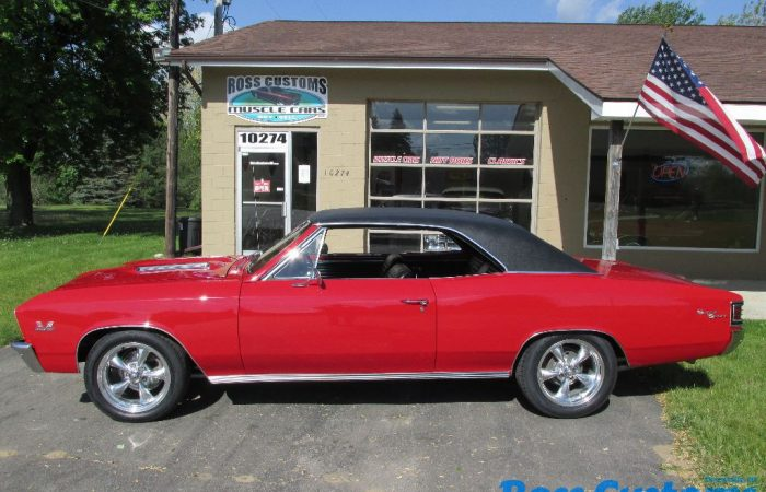 SOLD SOLD - 1967 Chevrolet Chevelle SS - 138 VIN - 396 - 4 Speed