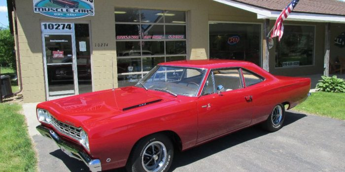 SOLD SOLD - 1968 Plymouth Road Runner 383 - #'s matching - Sport Coupe