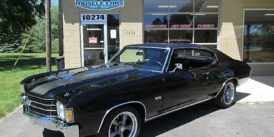 SOLD SOLD - 1972 Chevrolet Chevelle SS 350 4 speed