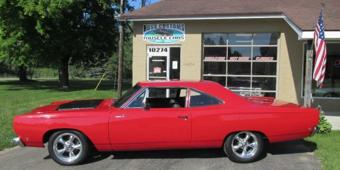 SOLD SOLD - 1968 Plymouth Road Runner 440 - 4 speed