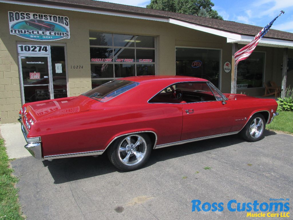 SOLD SOLD – 1965 Chevrolet Impala 502 « Ross Customs