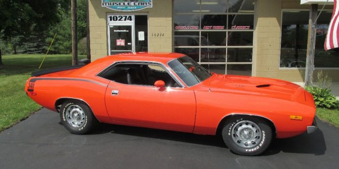SOLD SOLD -1972 Plymouth Cuda 340