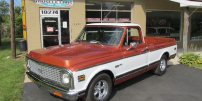 SOLD  SOLD - 1970 Chevy C10 Custom Deluxe Short box