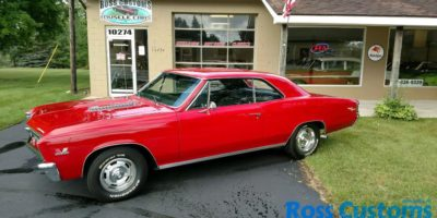JUST ARRIVED - 1967 Chevrolet Chevelle SS 396 - 4 speed - 138 VIN