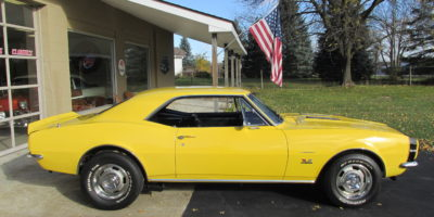FOR SALE - 1967 Chevrolet Camaro SS 396 - 4 speed - $34,900