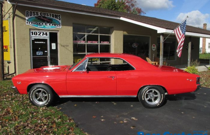 SOLD SOLD - 1967 Chevrolet Chevelle SS 427 - 4 speed