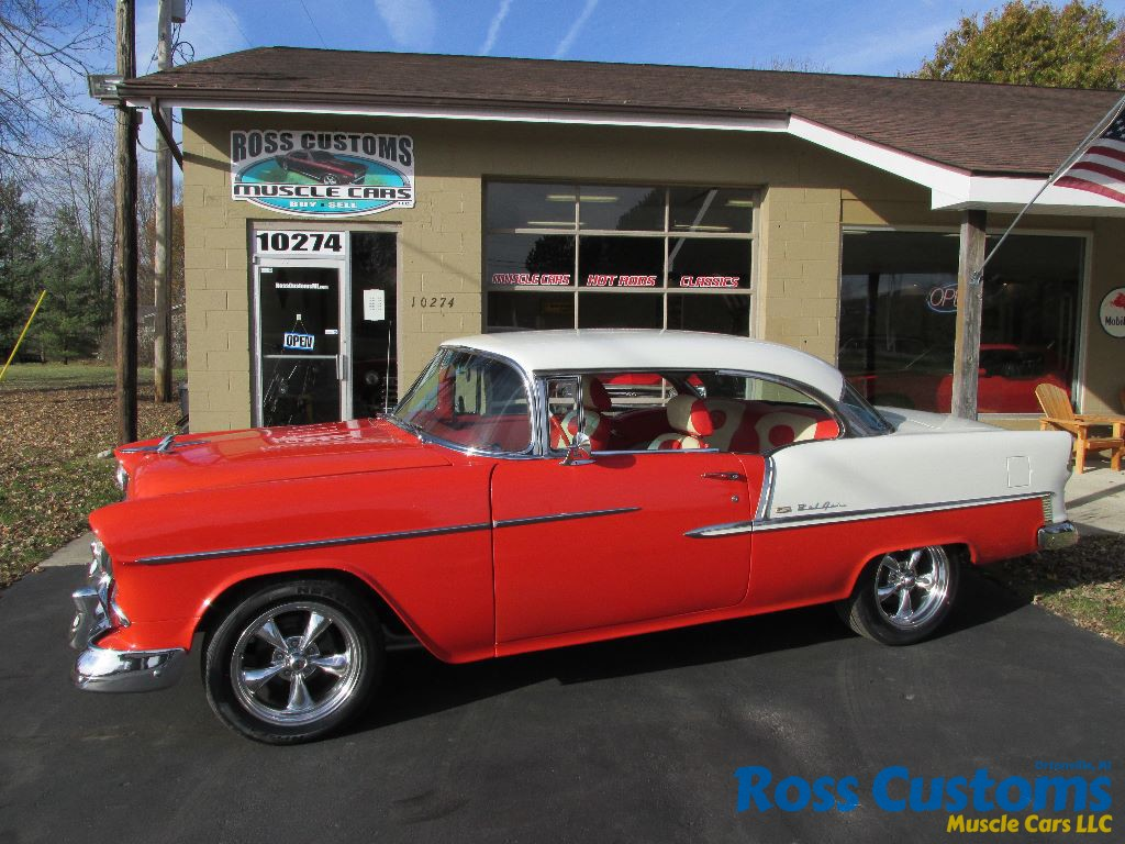 FOR SALE – 1955 Chevrolet Bel Air – 2 door hardtop – 4 speed ...
