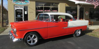 FOR SALE - 1955 Chevrolet Bel Air - 2 door hardtop - 4 speed - $42,900