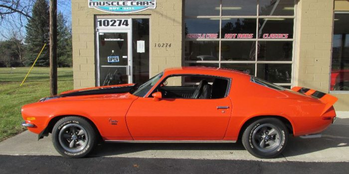 SOLD SOLD - 1972 Chevrolet Camaro 350 - #'s matching