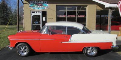 JUST ARRIVED - 1955 Chevrolet Bel Air - 2 door - Hardtop - 4 speed