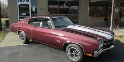 JUST ARRIVED - 1970 Chevrolet Chevelle SS 396 - 4 speed