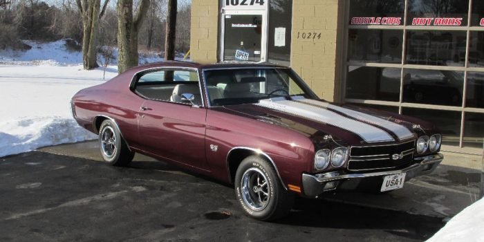 SOLD SOLD  - 1970 Chevrolet Chevelle SS 396 - 4 speed