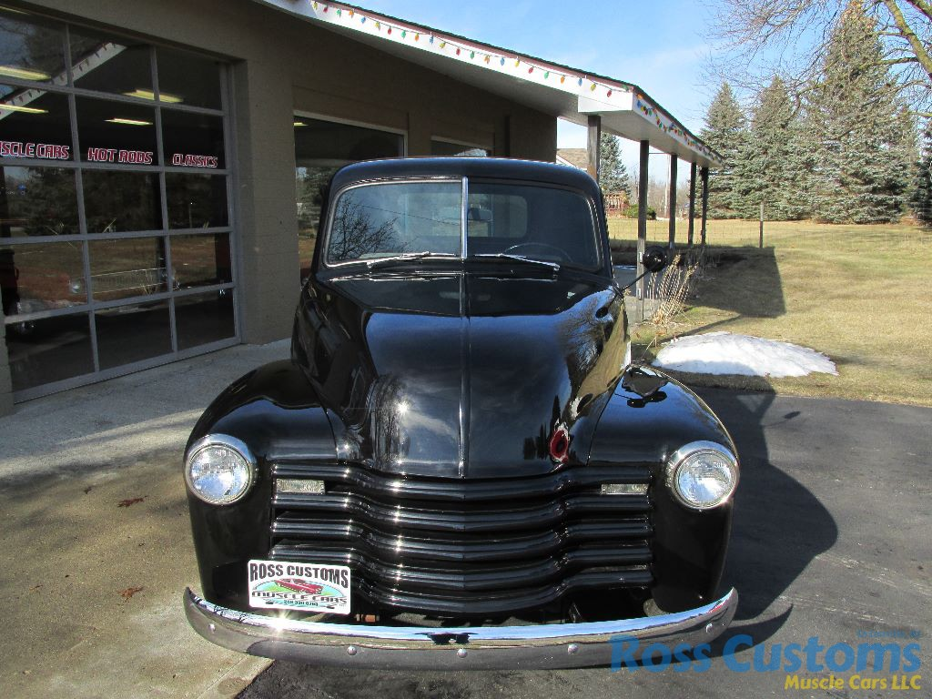 Sold 1949 Chevrolet 3100 Pickup Ross Customs Chevy Truck Hot Rod Share This