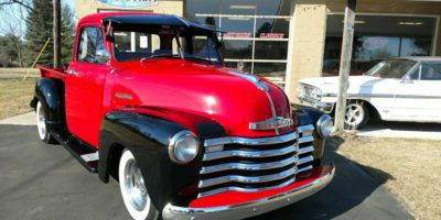 SOLD SOLD - 1952 Chevy 3100 5 window pickup