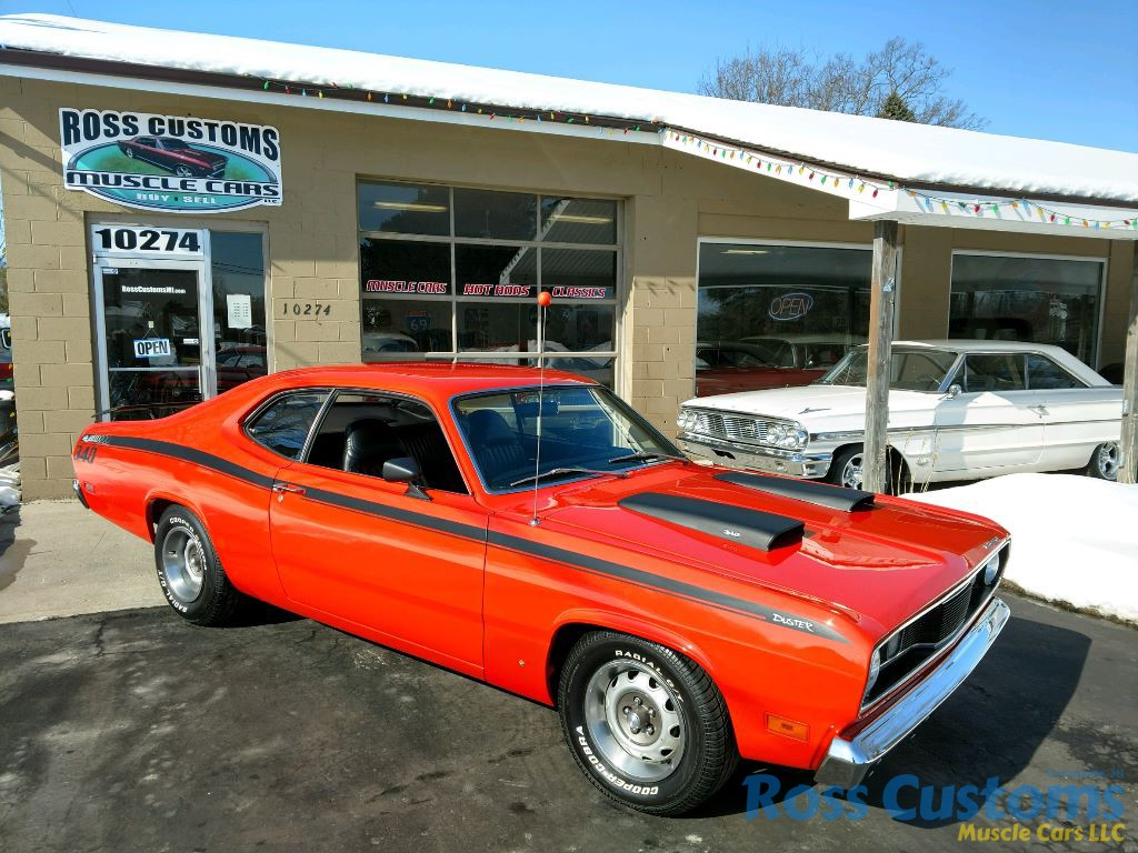 SOLD SOLD – 1971 Plymouth Duster 340 « Ross Customs