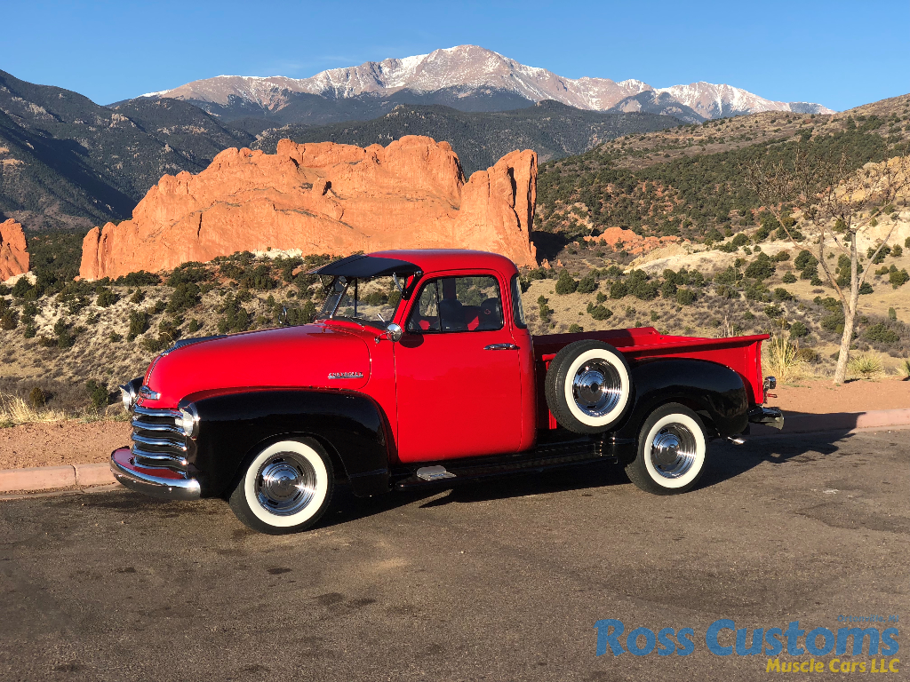SOLD SOLD – 1952 Chevy 3100 5 window pickup « Ross Customs