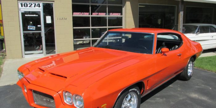 SOLD SOLD  - 1971 Pontiac GTO