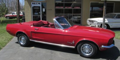 FOR SALE - 1968 Ford Mustang Convertible - $25,900