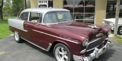 FOR SALE - 1955 Chevrolet Bel Air - 2 door post - $43,900