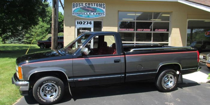 SOLD SOLD - 1992 GMC Sierra SLE 1500 C10 Pickup