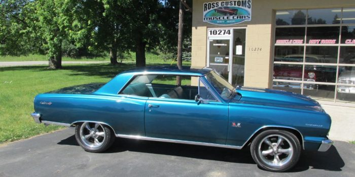 SOLD SOLD - 1964 Chevrolet Chevelle Malibu SS 396 - 6 speed