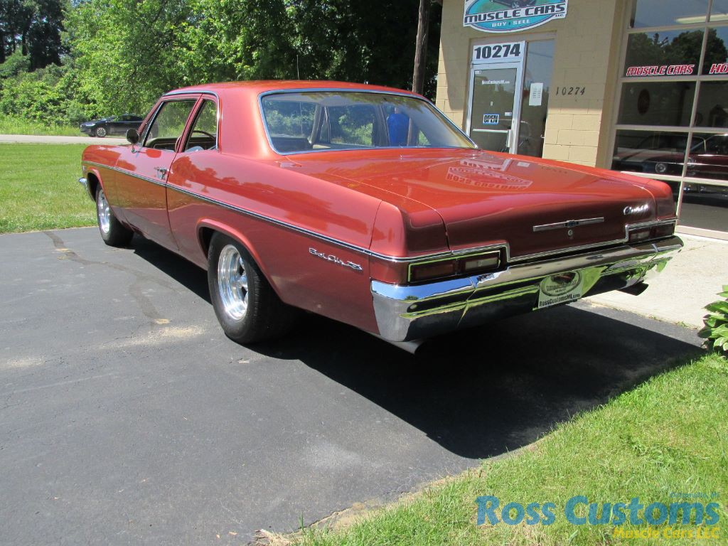 Sold 1966 Chevrolet Bel Air 427 Ross Customs Share This