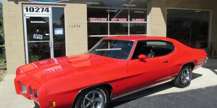 SOLD SOLD - 1970 Pontiac GTO #'s match 400 - PHS Documentation