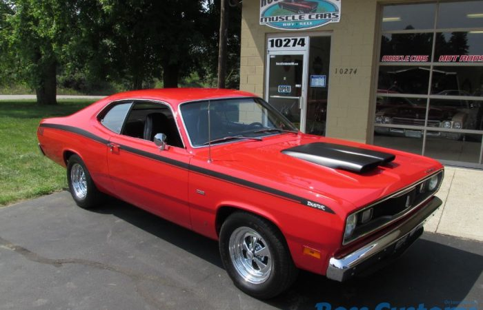 SOLD SOLD - 1970 Plymouth Duster #'s Matching 340/408